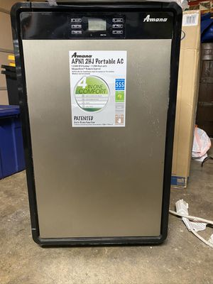 Amana 12,000 BTU portable air conditioner and heater for Sale in Buena Park, CA