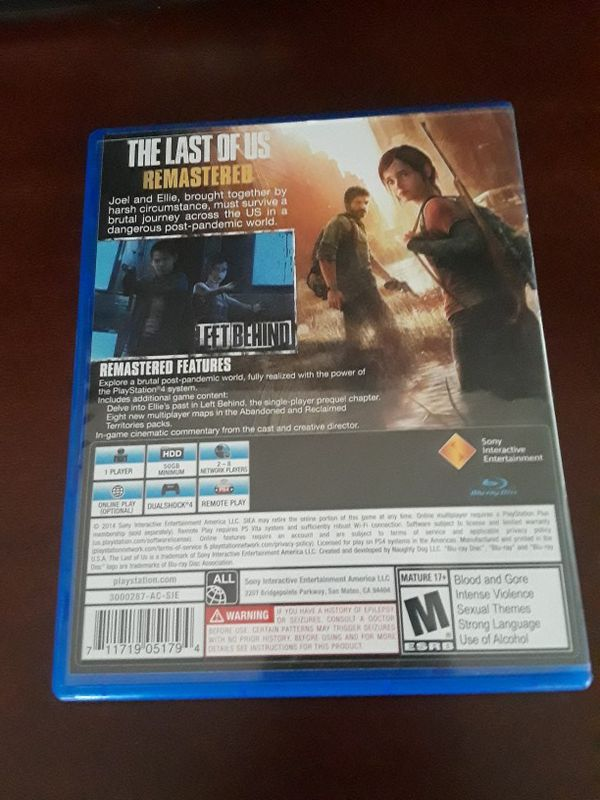 New, The Last Of Us, PS4 Game for Sale in Austin, TX - OfferUp