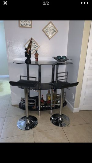 Bar and two stools for Sale in Tampa, FL