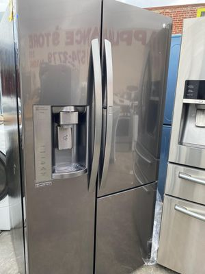 36 IN WIDE LG BLACK STAINLESS STEEL DOOR IN DOOR for Sale in Oceanside, CA