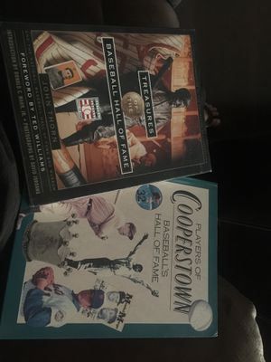 Hall of fame baseball books for Sale in Garden Grove, CA