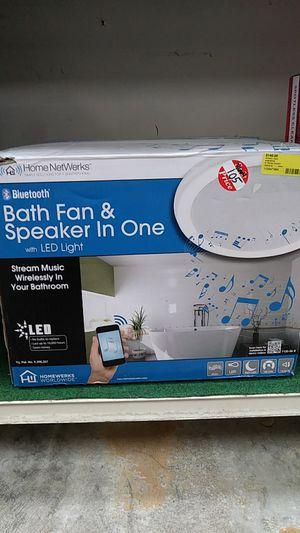 Home NetWerks Bluetooth Bath Fan & Speaker for Sale in Sebring, FL
