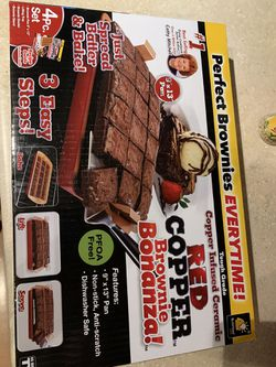 All edges copper brownie pan for Sale in Aurora,  CO