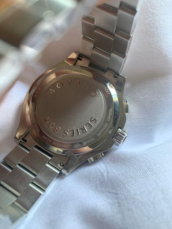 Authentic Movado Chronograph Series 800