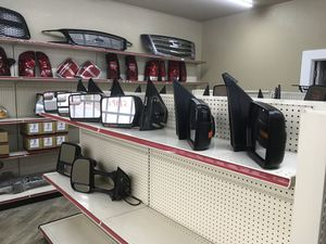 Headlights, tail lights, grilles new & used for Sale in Houston, TX