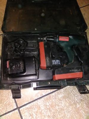 Metabo 18v drill with 2 batteries and charger for Sale in South Houston, TX