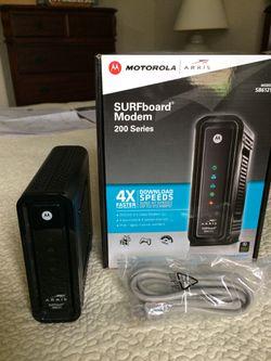 Motorola SURFboard Cable Modem for Sale in Port Charlotte,  FL