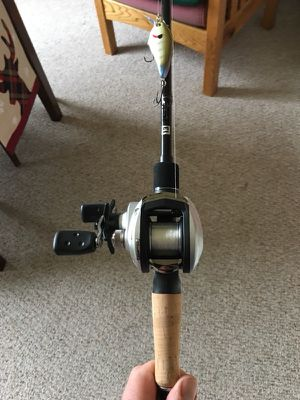 Baitcaster fishing rod for Sale in Franklin Township, NJ