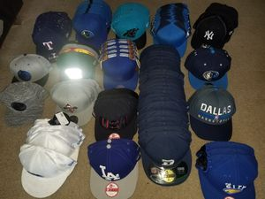 Investment.103 Official NFL & NBA Caps $500 for all. for Sale in San Antonio, TX