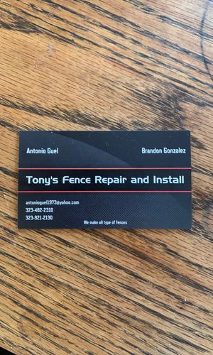 Toni's Fence repair and installment for Sale in Los Angeles, CA