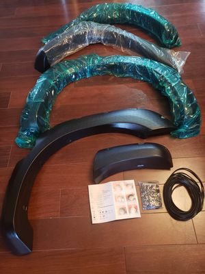 Fender flares for 2004 ~ 2014 Nissan Titan *(WITH LOCK BOX)* for Sale in Virginia Beach, VA