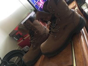 Red wing waterproof steel toe work boots for Sale in Greensburg, PA