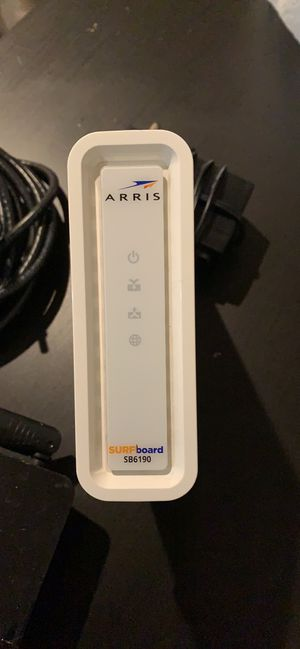 Arris cable Modem for Xfinity SB6190 PLUS Netgear router for Sale in Seattle, WA