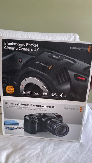 Blackmagic 4K video camera for Sale in Pittsburgh, PA