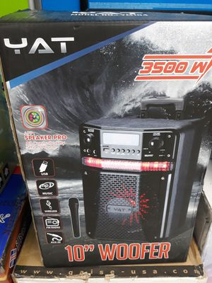 Bluetooth Speaker Rechargeable for Sale in Houston, TX