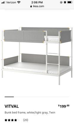 A Bunk Bed Frame from Ikea for Sale in Pittsburgh,  PA