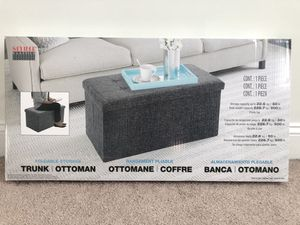 Ottoman and storage for Sale in Savannah, GA