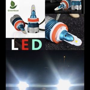 Green Boat Super Bright White LED Lights For Fog Lights Headlights All Sizes Available for Sale in San Dimas, CA