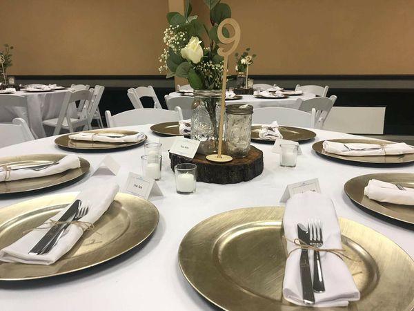 Event Cloth Napkins (Wedding/Event Reception) 125