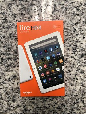 """* NEW Amazon Fire HD 8 Tablet With Alexa 8"""" Display 32 GB (10th Gen) #17818-2 for Sale in Revere, MA"""