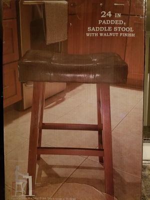 24 inch padded bar stool for Sale in Chesapeake, VA