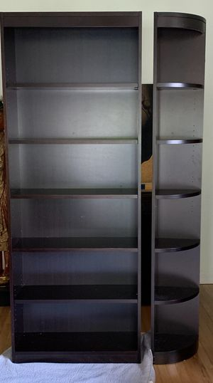 Dark Brown Bookcase for Sale in Coral Gables, FL