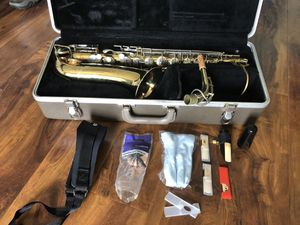 Buescher Aristocrat... Last full tune up, new pads etc. was March 2019. Hasn't been used since May 2019. for Sale in Gulf Breeze, FL
