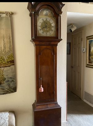 1790 Longcase Clock by Richard Pinnell Malmsbury England for Sale in Alta Loma, CA