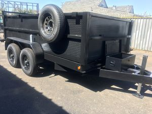 8x10x2 DUMP TRAILER for Sale in Phoenix, AZ