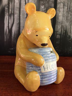 Vintage Winnie The Pooh Cookie Jar Treasure Craft c Disney-Mexico for Sale in Gresham, OR