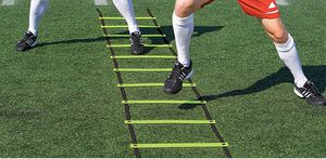 Brand new Super Flat Rungs Adjustable Speed Agility Ladder with Free Carry Bag. Soccer Ladder for Sale in Plano, TX