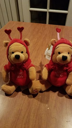 Disney Firefly Pooh Exclusive $6 each for Sale in Campbell, CA