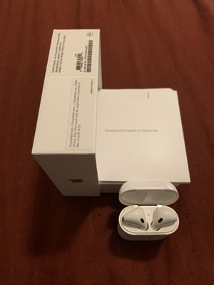 Apple AirPods w/ Apple Charger for Sale in Marietta, GA