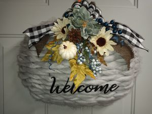 Fall Pumkin Wreath for Sale in Port Lavaca, TX