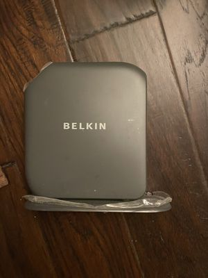 Belkin Router (no adapter) for Sale in Frisco, TX