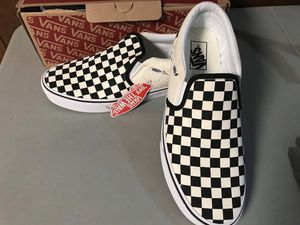 Vans CheckerBoard Slip ons shoes for Sale in Forest Heights, MD