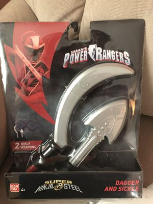 Power Rangers Dagger & Sickle for Sale in Zephyrhills, FL