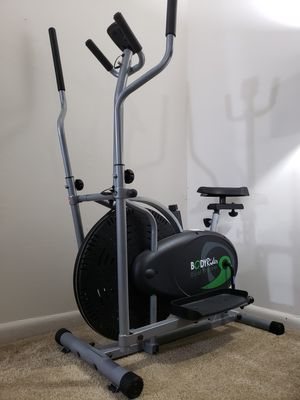 Elliptical Trainer and Exercise Bike with Seat for Sale in Virginia Beach, VA