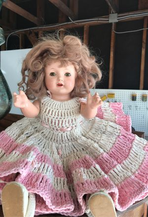 Antique porcelain doll for Sale in Norwalk, CA