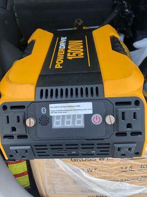 1500 W power inverter for Sale in Clinton Township, MI