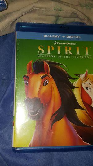 Spirit bluray. Brand new!! No digital copy for Sale in Lexington, KY