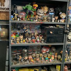 Funko pops Star Wars action figures light savers awesome collectibles trades welcome for Sale in Eagle Creek,  OR
