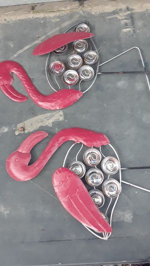 Flamingos for outdoor for Sale in Modesto, CA