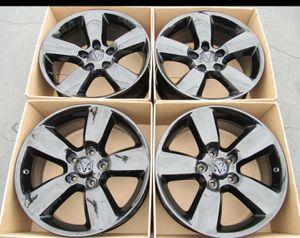 "20"" Dodge Ram wheels rims new gloss black set 4 oem 5lug for Sale in Santa Ana, CA"