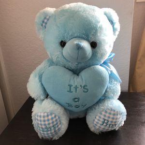 It's A Boy Stuffed Bear for Sale in Fontana, CA