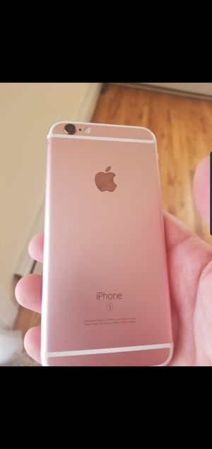 iPhone 6s 64gb rose gold factory unlocked $180 obo for Sale in Wayne, NJ