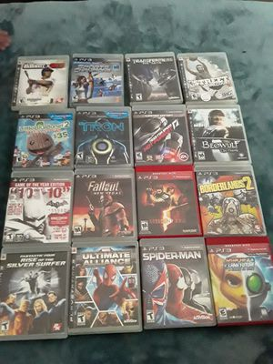 PS3 game Bundle for Sale in Las Vegas, NV