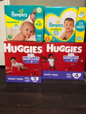 Pampers & Huggies for Sale in Lewisville, TX