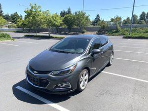 2017 Chevrolet Cruze premier hatchback for Sale in Everett, WA