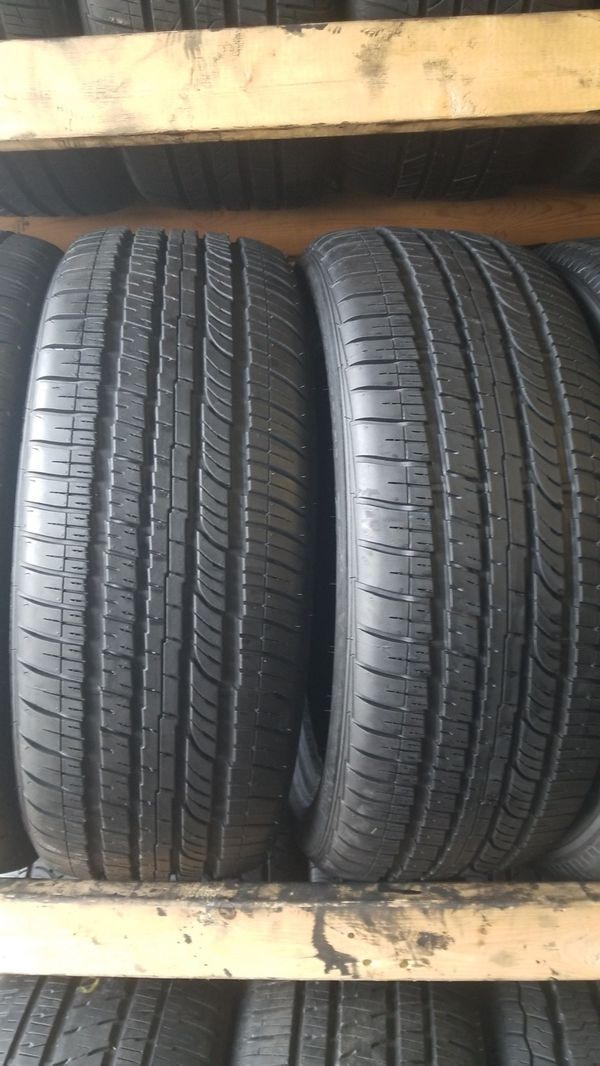 Two bright new set of Bridgestone tires for sale 245/45/20